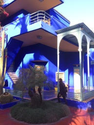 Yves Saint Laurent blue house