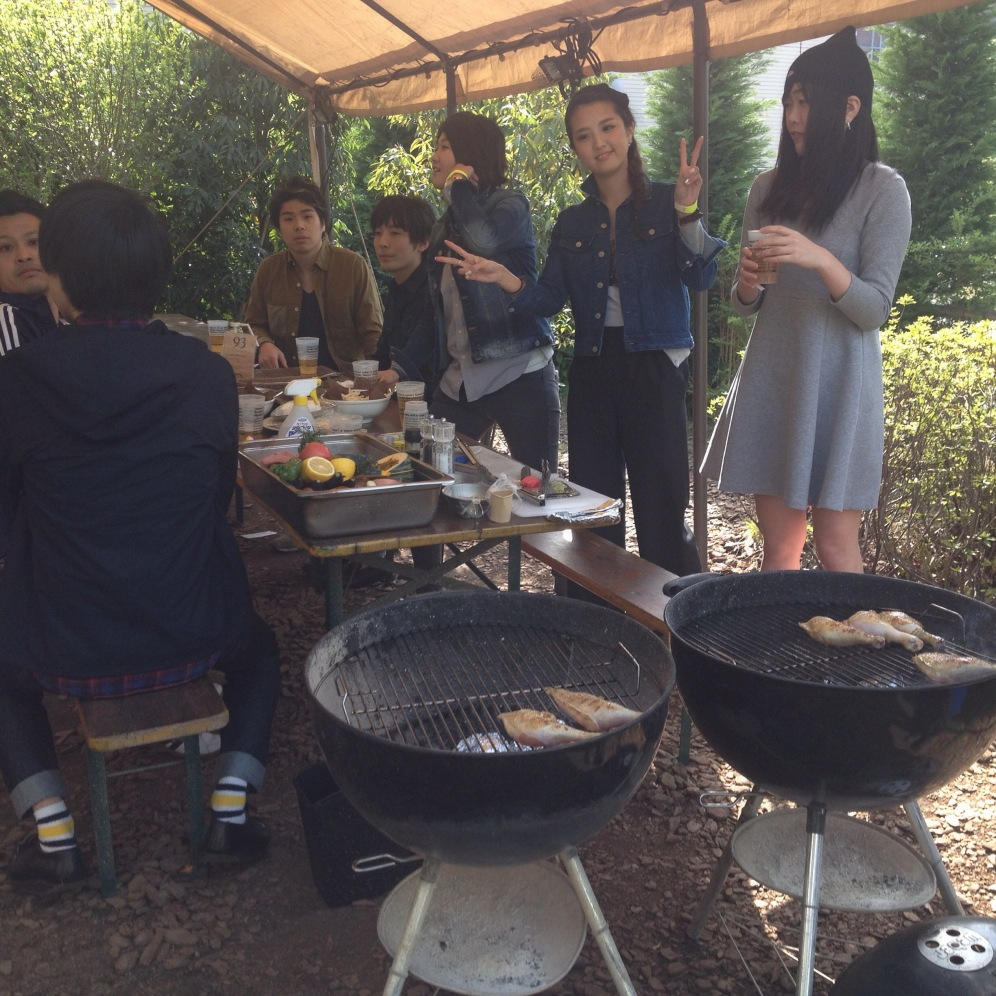 Japanese BBQ party